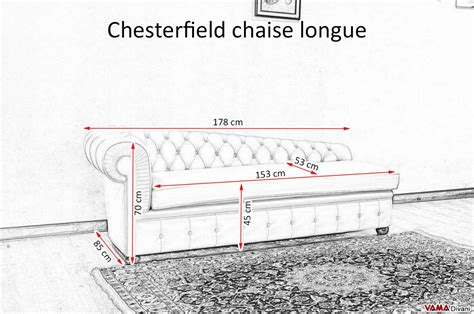 chaise chesterfield chester chaise longue with buttoned seating