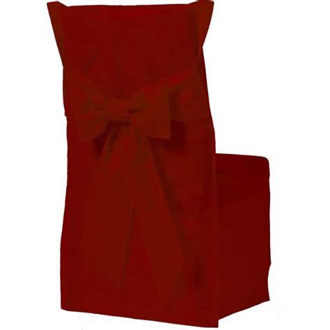 housse de chaise or housse de chaise couleur bordeaux x6