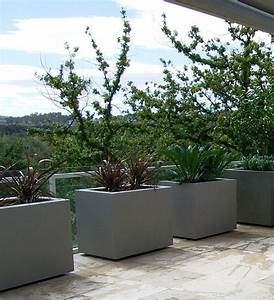Planter boxes for Modern outdoor planters