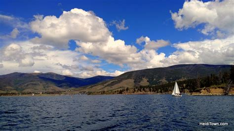 Pontoon Boats Lake Dillon by Fall In With Frisco Colorado This Autumn