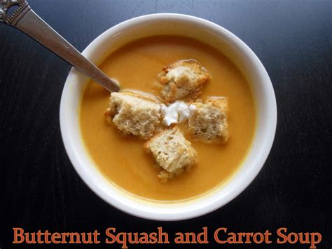 butternut squash and carrot soup flavors by four butternut squash and carrot soup