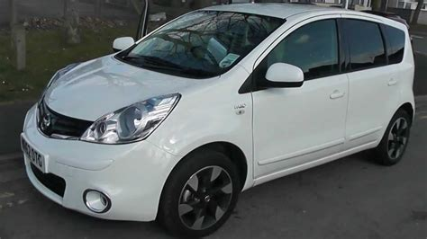 nissan note 2005 white wr62otg used nissan note n tec in arctic white at wessex