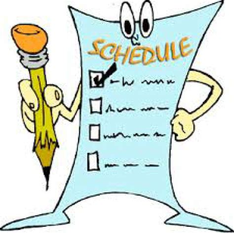 schedule clipart free daily schedule clipart free best daily schedule