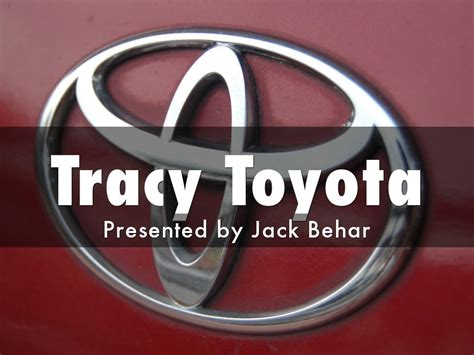 Tracy Toyota by Haiku Deck Gallery Business Presentations And Templates