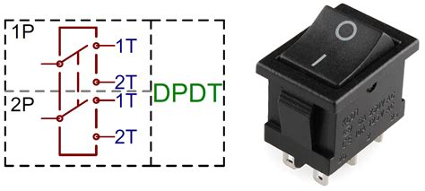 Dtdp Switch Wiring Diagram For Rocker by Different Types Of Switches With Circuits And Applications