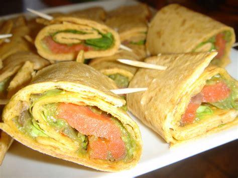 mes brouillons de cuisine warps au guacamole et au saumon quot mes brouillons de