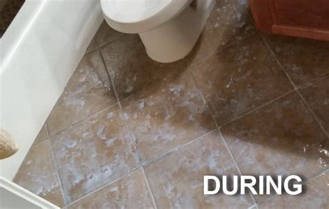 how to seal and gloss tile and grout in one step