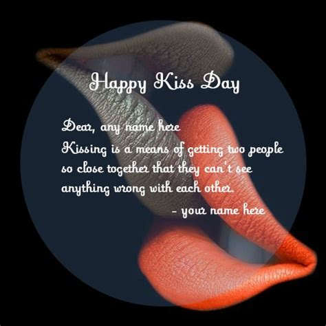 couple  kiss day lip kissing quotes images