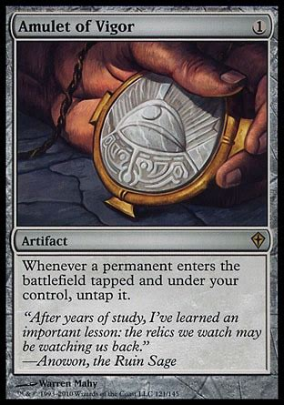 Competitive Sliver Deck Modern by Primer Amulet Titan Developing Competitive Modern