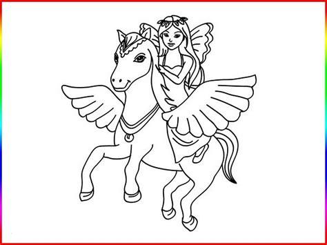 gratis ausmalbild manga maedchen auf einhorn kostenlos zum  einhorn ausmalbild