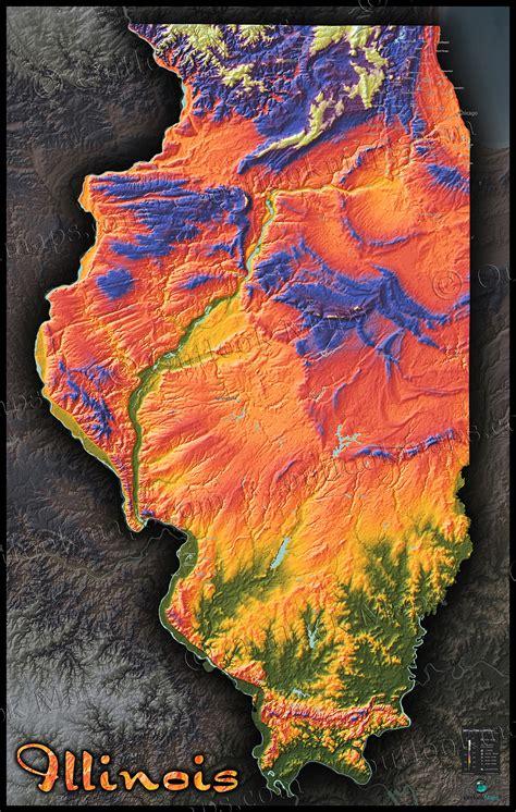 Illinois Topographic Map