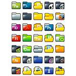 Xp Icon Folder Pack Folders Windows Icons