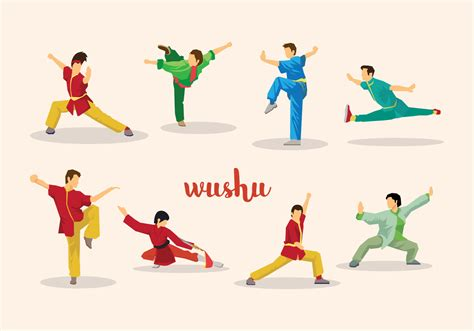 Free Wushu Vector - Download Free Vector Art, Stock ...