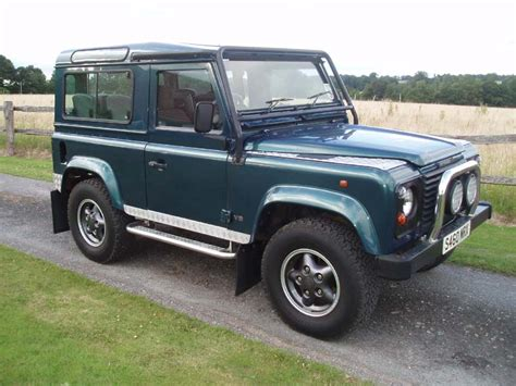 land rover jeep defender for sale land rover defender 90 4 0 v8 50th anniversary for sale