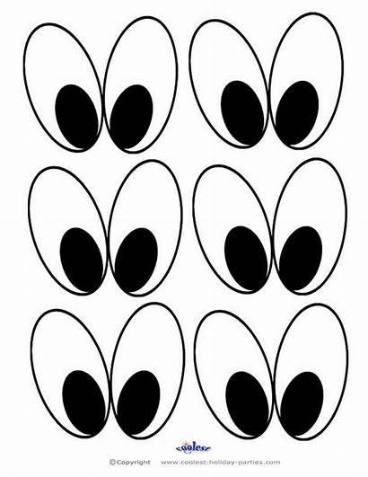 Eyes Printable Template Bunny Printables Easter Cartoon