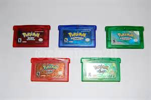 plete guide to authentic gba pokemon games