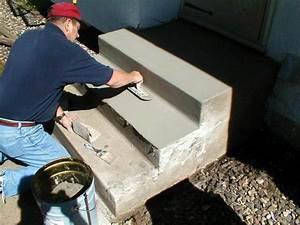 Repair Broken Steps With Concrete Mender