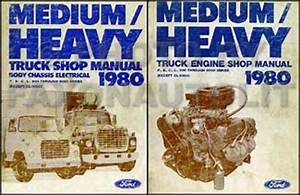 Ford F800 Truck - Parts Supply Store