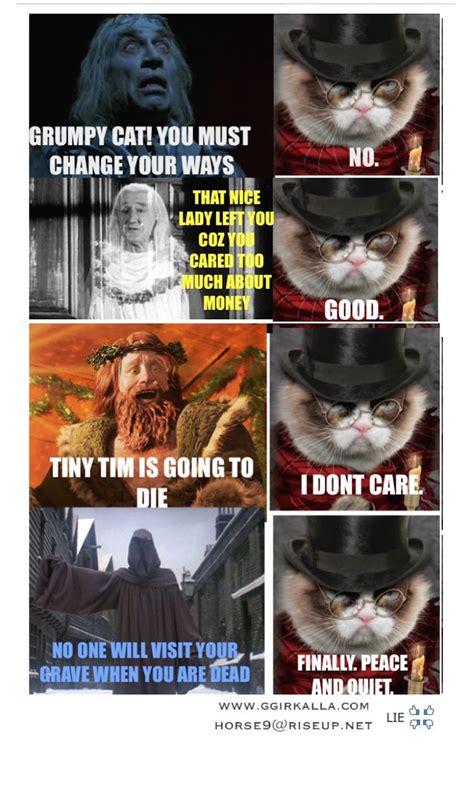 grumpy carol grumpy cat   meme