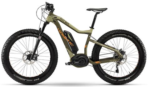 fat ebikes haibike fatsix  fattie electric bike revealed