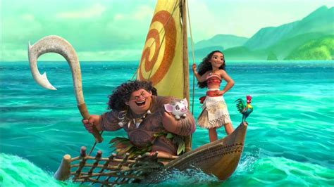 Moana On Boat Song by Moana 2016 Disney Sails Us Away Marianiment