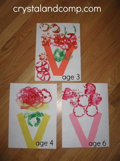 v craft site about children letter of the week preschool craft v is for vase
