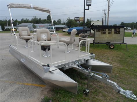 Electric Boat Ta by Pontoon Boat Mitey Pontoon Boat