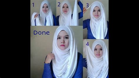 hijab styles  teenagers step  step ideas hijab tutorials   styles youtube