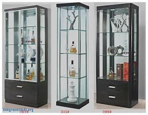 Living Room : Stirring Glass Showcase Designs for Living ...