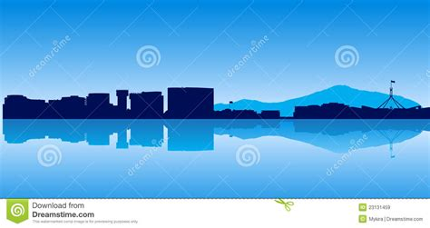 canberra detailed silhouette trendy vector illustration