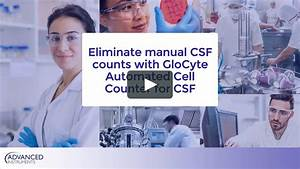 Eliminate Manual Csf Cell Counts With Glocyte Automated