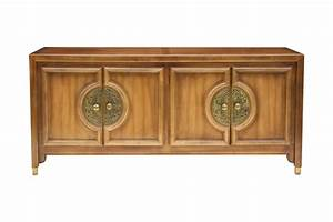 Low Hollywood Regency Buffet Credenza Chairish