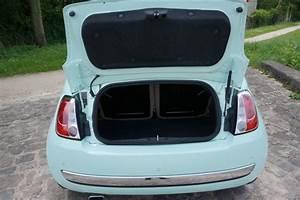 Coffre Fiat 500 : essai fiat 500cen voiture carine en voiture carine ~ Gottalentnigeria.com Avis de Voitures