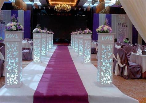 pcslot love wedding plastic column white wedding pillars