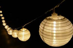 Lampions Mit Led : lampion led lichterkette garten au en ~ Watch28wear.com Haus und Dekorationen
