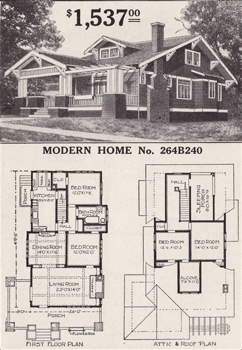 craftsman style homes plans in 1916 a craftsman bungalow from sears cost only 1 537