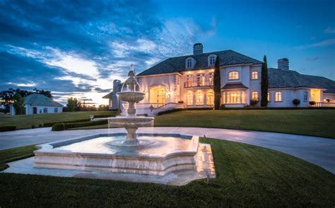 square foot french inspired mansion  cottonwood
