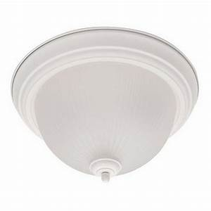 Textured White Fluorescent Ceiling Light Fixture 15 25