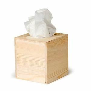 Boite Mouchoir Bois : support d corer en bois boite mouchoir carr 2 13 x 13 x 14 cm ~ Teatrodelosmanantiales.com Idées de Décoration