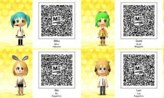 Tomodachi Life QR-Codes
