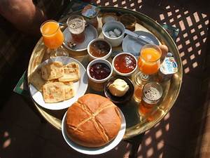 Beautiful Moroccan breakfast prepared by our wonderful ...