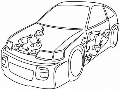 Coloring Suv Pages Simple Vehicle Drawing Police