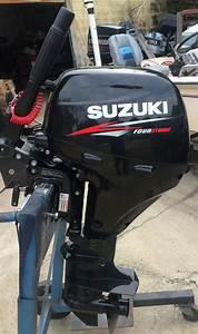 Used 1997 Suzuki 9 9 Hp Outboard Motor For Sale Suzuki