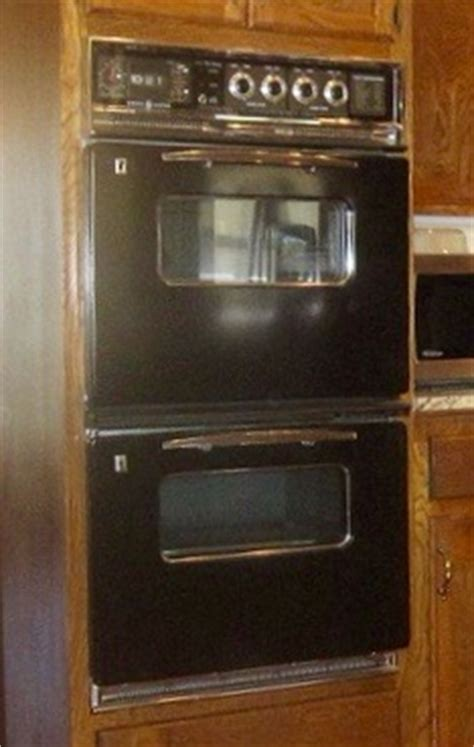 vintage ge double wall oven question