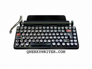 Qwerkywriter  A Mechanical Typewriter Keyboard    Boing Boing