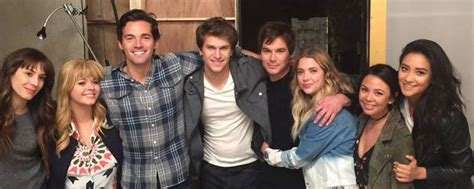 Elenco de 'Pretty Little Liars' se despede da série e ...