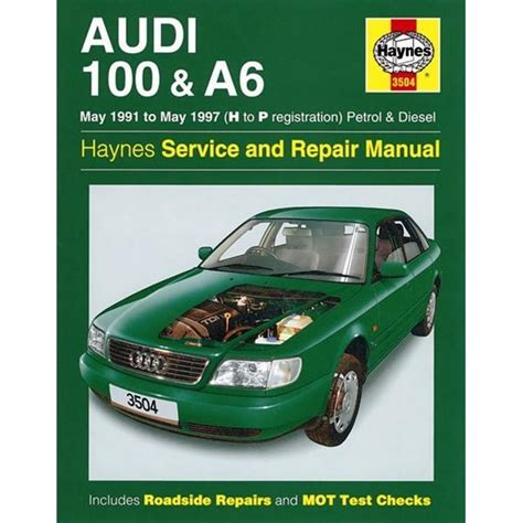 car maintenance manuals 1994 audi v8 windshield wipe control vehicle manual for audi 100 a6 petrol diesel may 91 may 97 from haynes publishing