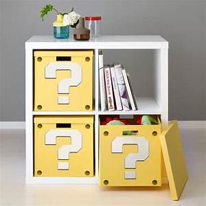 Ikea Kinderküche Erweitern : how to make a super mario question block shelf from ikea furniture downloadable printable ~ Markanthonyermac.com Haus und Dekorationen