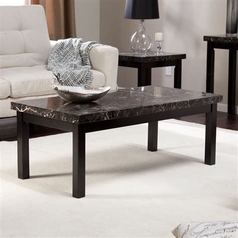 galassia faux marble coffee table coffee tables at hayneedle
