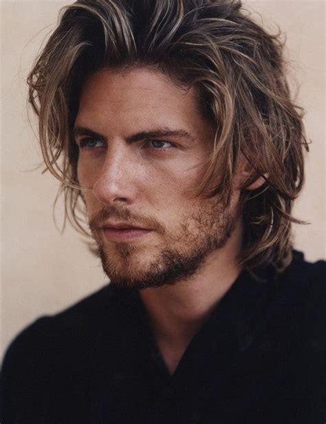 medium length hairstyles  men  mens mid length